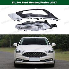Left LED Fog Lamp Light w/Cover Bezel for Ford Mondeo/Fusion 2017