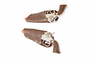 Roma Costume Pair of Toy Cowboy Guns, As Shown, One Size