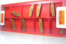 10 STK SANDVIK N123H2-0400-0008-TM 4225 WENDESCHNEIDPLATTEN WENDEPLATTEN