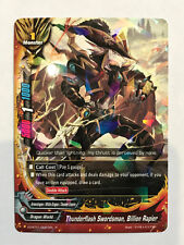 Buddyfight – Thunderflash Swordsman, Billion Rapier (0021EN) – Rare – FOIL – NM
