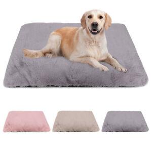 Pet Bed Mat Cat Dog Puppy Soft Fleece Blanket Cushion Warm Sleep Kennel S M L XL