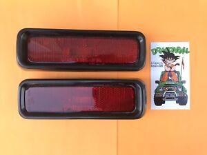 92-98 Suzuki Sidekick, Geo Tracker Rear Side Marker Lights L+R
