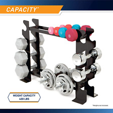 Multiple Compact Dumbbell Rack Storage Equipment Fitness Workout Weights New