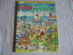 Felix Sonderheft Ferien Sonderband von 1977 Sammler Rarität Bastei Verlag Comic