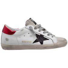 Golden Goose sneakers women superstar GWF00101.F000147.80170 Ice/White/Black/Red