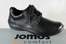 Jomos Lace Up Sneakers Trainers Low Shoe Black New