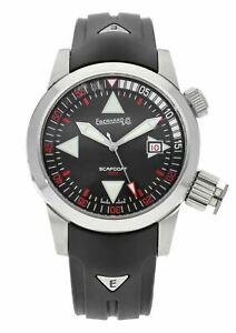 Eberhard Scafodat 500 Automatic 44mm Men's Stainless Steel Watch 41025