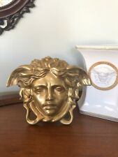 Extra Large Versace Shop Display Medusa Head Wall Plaque - Solid Bronze
