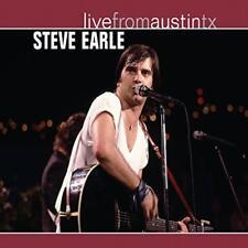 Steve Earle - Live From Austin Texas (NEW CD)