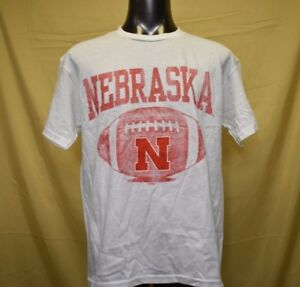NEBRASKA CORNHUSKERS YOUTH T SHIRT SHORT SLEEVE PROEDGE  S M L XL NWT GRAY//RED