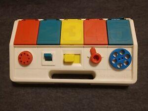 Playskool Disney Mickey, Minnie, Pluto, Donald, Goofy Poppin' Pals Toy, 1980