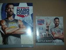 New Sealed 22 Minute Hard Corps by Beachbody plus Battle Buddy Workout Bonus Set
