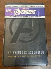 Avengers 4 FIlm Steelbook Collection 4K + Blu-ray + Digital