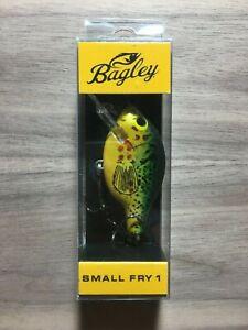 """Bagley Bait - Small Fry 1 - Pumpkin Seed - 1/4 oz. - 2"""""""