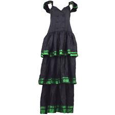 Christian Dior Vintage Sleeveless One Piece Long Dress Black #9 Y04111d