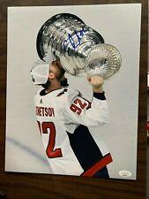 Washington Capitals Evgeny Kuznetsov  Signed Autographed 11x14 NHL Photo JSA COA