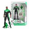 New DC Comics Icons John Stewart Green Lantern Figure Collectibles Official