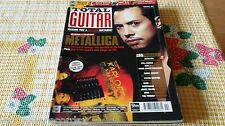 MAGAZINE TOTAL GUITAR 2 - METALLICA - LYNYRD SKYNYRD - ABBA - RORY GALLAGHER