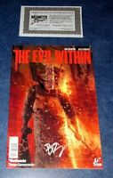 THE EVIL WITHIN #1 signed 1st print TITAN COMIC BOOK BEN TEMPLESMITH NM COA game