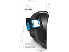 ResMed Therapy SD Data Card & Protective Folder Compatible S9 & S10 - NEW
