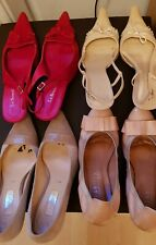 4 Pairs Of Leather Shoes size 7