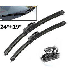 "2PCS/Set Front Window Windshield Wiper Blades 24"" 19"" Fit For Chevrolet Malibu"