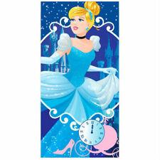 DISNEY serviette drap de bain plage 70 x 140 cm CENDRILLON princesse bleu