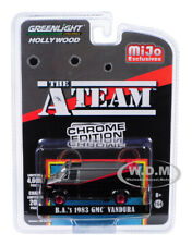 "1983 Gmc Vandura Chrome Black ""The A-Team"" 1/64 Diecast Car By Greenlight 51225"
