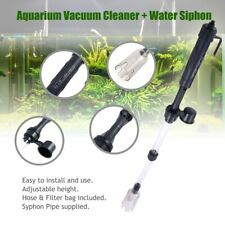 DC110-220V Aquarium Electric Cleaner Syphon Fish Tank Vacuum Gravel Water Filter
