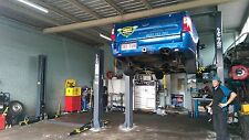 2-Post Car Hoist 4.5T Clear Floor Australian Certified by Hero Hoists Qld