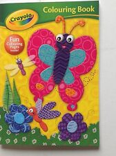 Crayola Colouring book- butterfly