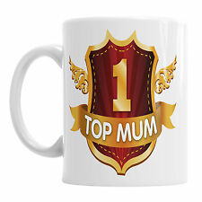 Top Mum Coffee Office Mug  Gift Tea Cup Family Mother's Day Present