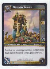 World of Warcraft TCG Mietitrice Spinale 28/30 Molten Core Rara FOIL ITA