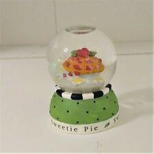 Mary Engelbreit Sweetie Pie Glass Mini Snow Globe - 1998