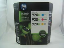 Genuine OEM Sealed HP 920 XL Ink Cartridges Expired 2014