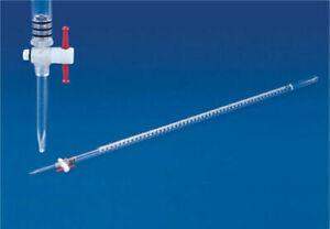 CYLINDER HEAD CC KIT- PLASTIC BURETTE/TPX 25/50/100 ml Individually Calibrated