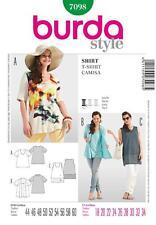 BURDA SEWING PATTERN LADIES Loosely draping T-shirt SIZE 18 - 34 7098