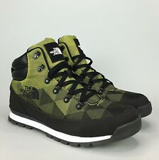 North Face Back to Berkeley Redux Avery Boots Size 12.5 Men's Black Cyber Yellow