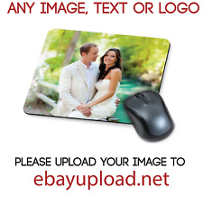 PERSONALISED MOUSE MAT GIFT YOUR IMAGE DESIGN PHOTO PRINTED FREE POSTAGE