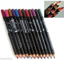 LIPLINER PENCIL Eyebrow Eyeliner Black Orange Red Pink Brown Pout Lip Liner UK