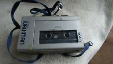 Vintage SONY  STEREO WALKMAN WM-4  STEREO CASSETTE PLAYER Working