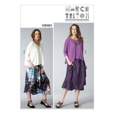 Vogue V9161 Marcy Tilton Top & Skirt Sewing Pattern Size 16-26