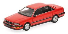 Audi V8 1988 Red 1:43 Model 400016001 MINICHAMPS