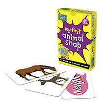 NEW The Green Board Game Co. - My First Animal Snap Cards - 5 years plus