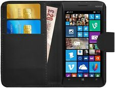 Housse Etui Coque Portefeuille Simili Cuir Pour Nokia Lumia 930 + Film + Stylet
