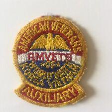 American Veterans AMVETS Korea Vietnam Auxiliary patch