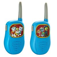 PAW Patrol Walkie Talkies Chase and Marshall Kids Gift Childrens 2-way Radio