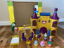 Veggie Tales Duke & The Pie War Castle Playset with Accessories and 5 Figures