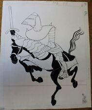 MARA Excalibur dessin original LEGENDE DU ROI ARTHUR Malavergne