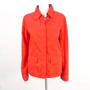 CLOSED Jacke Damen rot 100% Baumwolle Gr. M Jackets Coats Cotton